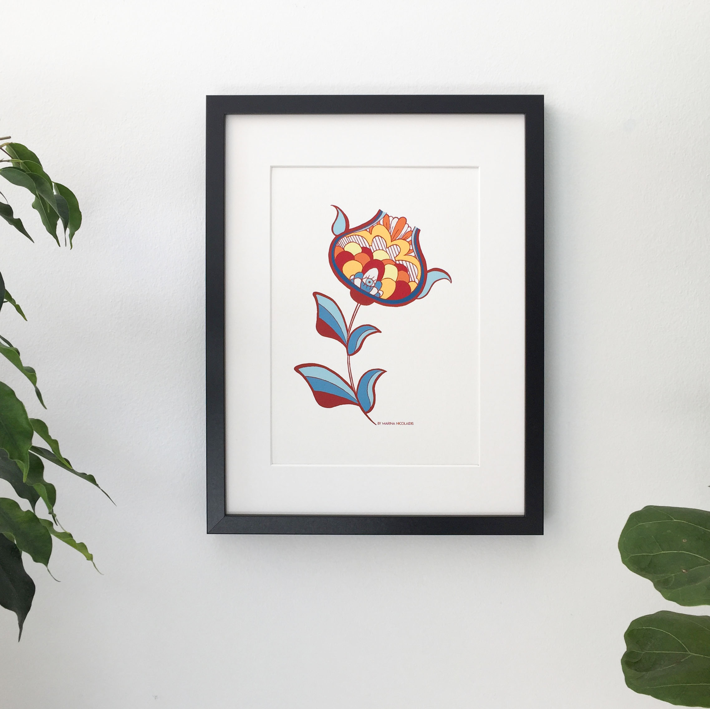 Art Print made of no charmful chemicals