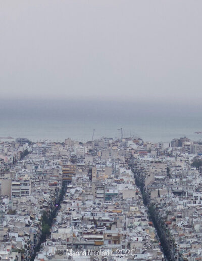View from one side of Athens